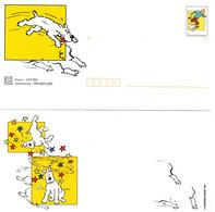 """★ """" TINTIN / MILOU """" Sur PAP De 2000 (avec Sa Carte)  N° YT 3304 En Parfait état. - Comics"""