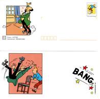 """★ """" TINTIN / PROFESSEUR TOURNESOL"""" Sur PAP De 2000 (avec Sa Carte)  N° YT 3304 En Parfait état. - Comics"""