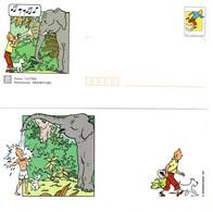 """★ """" TINTIN """" Sur PAP De 2000 (avec Sa Carte)  N° YT 3304 En Parfait état. - Comics"""