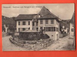 ZMC-09 SELTEN Maisprach  Sissach Gasthaus Und Metzgerei Zum REbstock. Metz, Nicht Gelaufen - BL Basle-Country
