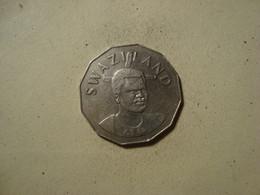 MONNAIE SWAZILAND 50 CENTS MSWATI III 1996 - Swaziland