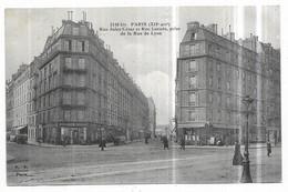 Paris (XII°) Boulangerie Patisserie Rue Jules César Et Rue Lacuée, Prise De La Rue De Lyon - Distretto: 12
