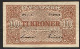 ДАНИЯ  10  КРОН     1944 - Denmark