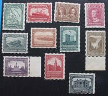 Terre Neuve NEWFOUNDLAND 1928 131 à 135 , 137 à 140 +143 145 Neufs* - 1908-1947