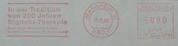 6800 Mannheim 1988 Digitalis-Therapie Boehringer Germany - Geneeskunde