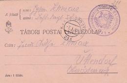 Feldpostkarte K.u.k. Infanterie Regiment Ehg. Friedrich Nr. 52 - Nach Uttendorf - 1915 (55447) - Cartas
