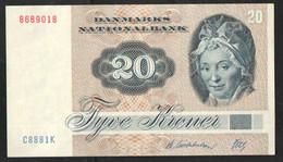 ДАНИЯ  20  КРОН     1972 - Denmark