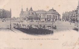 QM - OSTENDE - Le Kursaal Vue Du Coté De Laville Ostende - 1904 - Oosterzele