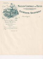 Maison Centrale Du Papier - Luxembourg - Gustave Soupert - & Litho - Luxemburg