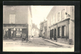 CPA Wassy, Rue Du Val-du-Chateau, Blick In Die Gasse - Wassy