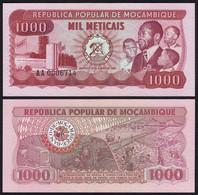 MOSAMBIK - MOZAMBIQUE 1000 Meticais 1980 Pick 128a UNC (1)  (25348 - Otros – Africa