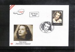 Austria / Oesterreich 2011 Movie Actress Hedy Lamarr FDC - Cinema