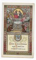 Canivet / Devotieprent / Image Pieuse, Onze Lieve Vrouw Der Engelen In Potiuncula - Santini