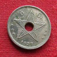 Congo Belgian 5 Centimes 1927 Belgish - Other