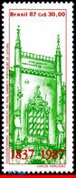 Ref. BR-2111 BRAZIL 1987 - ROYAL PORTUGUESE CABINET, OF LITERATURE, MNH, ARCHITECTURE 1V Sc# 2111 - Nuevos