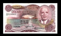 # # # Seltene ältere Banknote Malawi 1 Kwacha 1988 # # # - Malawi