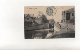 Lens En 1906..Le Canal..Voir Scan - Lens