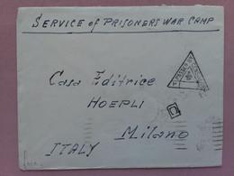 REGNO - Lettera Da Prigioniero Di Guerra - Verificata Censura - Provenienza India + Spese Postali - Militärpost (MP)