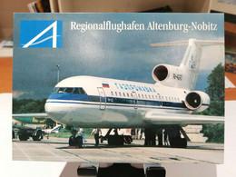 FLUGHAFEN AIRPORT ALTENBURG NOBITZ - Aerodromes