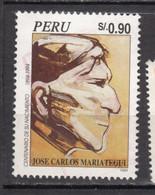 #17, Pérou, Peru, José Carlos Mariátegui, Journaliste, écrivain, Writter - Peru