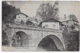 73 - HERY SUR UGINE (Savoie) - L.F. 1405 - Pont Sur Le Mineret - Route De Megève ( 74 ) - CPA Adressée En Suisse En 1911 - Other Municipalities