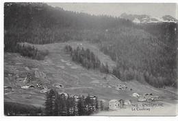 74 - VALLORCINE - L.F. 1410 Et 1411 - Vallée De Chamonix - Lot De 2 CPA : Le Couteray + L'hôtel Du Buet Et De La Gare - Chamonix-Mont-Blanc