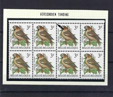 N°2189/2189-Cu (versprongen Tanding) MNH ** POSTFRIS ZONDER SCHARNIER SUPERBE - 1985-.. Pájaros (Buzin)
