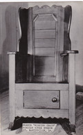 """Louisiana St Martinville Famous """"Wishing Chair"""" Acadian House Museum Real Photo - Other"""