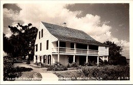 Louisiana St Martinville Acadian House Seen From Rear Real Photo - Other