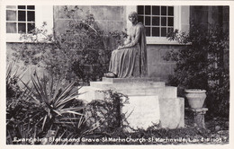 Louisiana St Martinville St Martin Church Evangeline Statue And Grave Real Photo - Other
