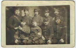 Groupe De Soldats 21ème Régiment Infanterie & 51ème Régiment Infanterie Territoriale - Basé à Langres (52) - Carte Photo - Reggimenti