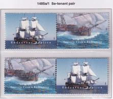 Australia 1995 Endeavour Replica Sc 1423 Mint Never Hinged Horizontal Pairs - Neufs