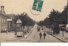 02- Saint Quentin  Boulevard Gambetta - Saint Quentin