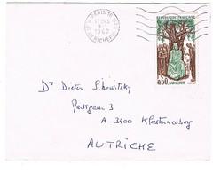 1539 ST LOUIS SEUL POUR L'AUTRICHE - 1961-....