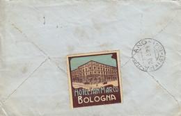 """10077-""""HOTEL SAN MARCO""""-CHIUDILETTERA-ERINNOFILO-1924 - Erinnofilia"""