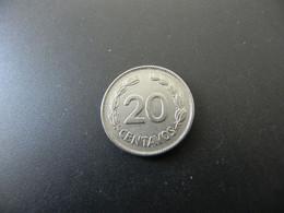Ecuador 20 Centavos 1959 - Ecuador