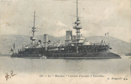 """CPA Transports > Bateaux > Guerre Le """"Masséna"""" Cuirassé D'Escadre à Tourelles - Krieg"""
