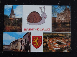 SAINT CLAUD - CHARENTE - MULTIVUES ESCARGOT - Sonstige Gemeinden