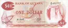 Guyana 1 Dollar 1992 Pick 21g UNC - Guyana