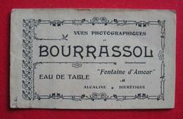31 Toulouse Rare Catalogue Publicité Bourrassol Fontaine D'Amour Fabrique Boissons Gazeuses Du Midi - Reclame