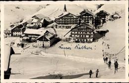 CPA Ober Gurgl Tirol, Blick Auf Den Ort, Skilift - Otros