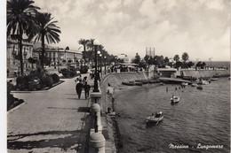 MESSINA-LUNGOMARE-CARTOLINA VERA FOTOGRAFIA- VIAGGIATA IL 29-6-1959 - Messina
