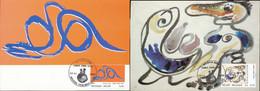 NB - [13759]TB//-CMAX 3563/64, 2006, MB, Tableaux, Painting, Emission Commune Avec Le Danemark - 2 Cartes - 2001-2010
