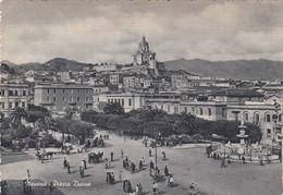 MESSINA-PIAZZA DUOMO-CARTOLINA VIAGGIATA IL 19-6-1956 - Messina