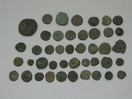 Lot De 43 Monnaies Romaines à Identifier En Grande Majorité Des Petits Bronzes    **** EN ACHAT IMMEDIAT **** - 4. Andere Romeinse Munten