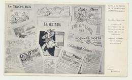Carte Publicitaire Correspondance De A. VERBOUWE à JETTE Pour E. RAOUST Libraire LILLE - Jette