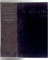 DICTIONNAIRE LATIN FRANCAIS 1934 PAR LEBAIGUE EDITEUR BELIN - Dictionaries