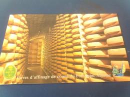 Carte Postale Publicitaire Caves D Affinage De Comte Du Fort Saint Antoine Malbuisson 25300 - Reclame