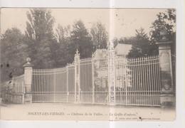 CPA-60-Oise- NOGENT-les-VIERGES- Château De La Vallée- La Grille D'entrée- - Otros Municipios