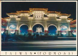 °°° 26224 - TAIWAN - TAIPEI - MEMORIAL HALL - 1993 With Stamps °°° - Taiwan